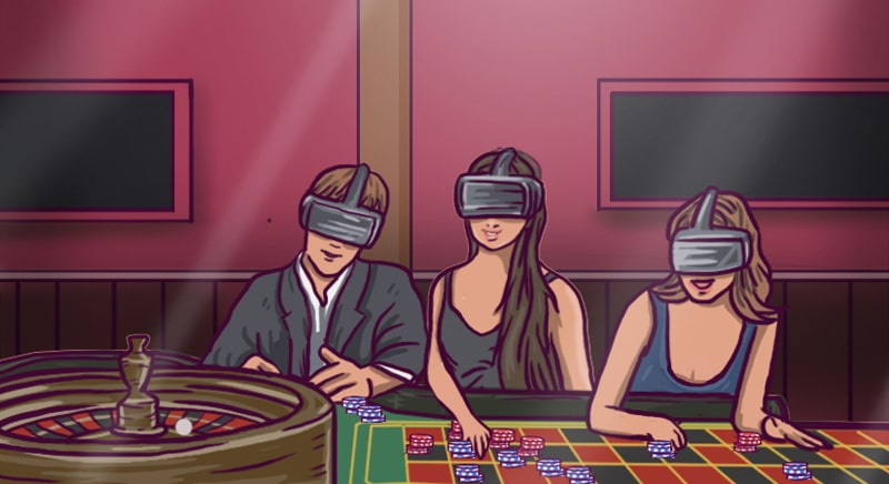 Virtual reality casinoer