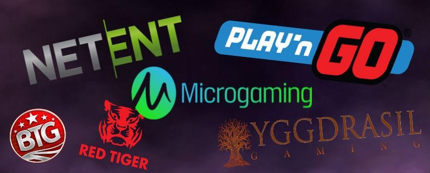 casino softwareudbydere