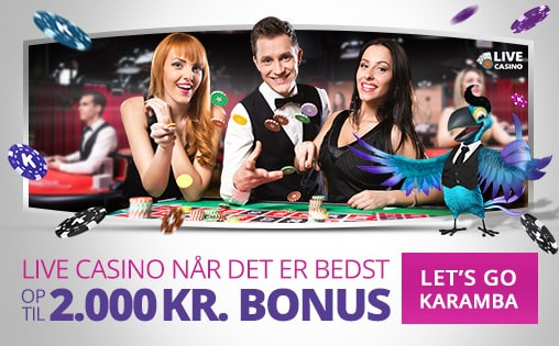 Karamba Casino Dansk Live-dealer-spil