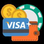Betalingsmetoder til online casino Visa