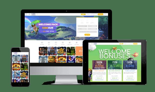 Spil i Loki casino online på mobiltelefon